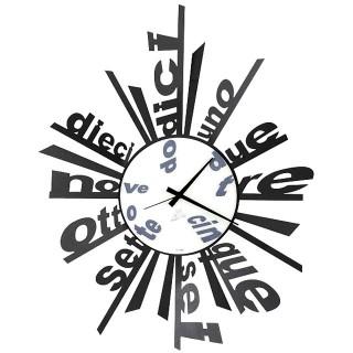 2008 orologio word 320x320 Orologi dal muro moderni, design da appendere al muro