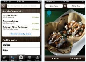 Foodspotting: applicazione iPhone/iPad/iPod