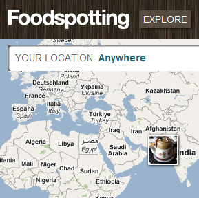 Foodspotting home