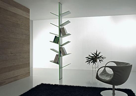 Librerie e design 7 idee per sistemare i libri in casa for Disegni di casa in stile santa fe